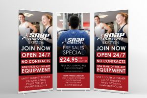 Snap Fitness Roller Banners