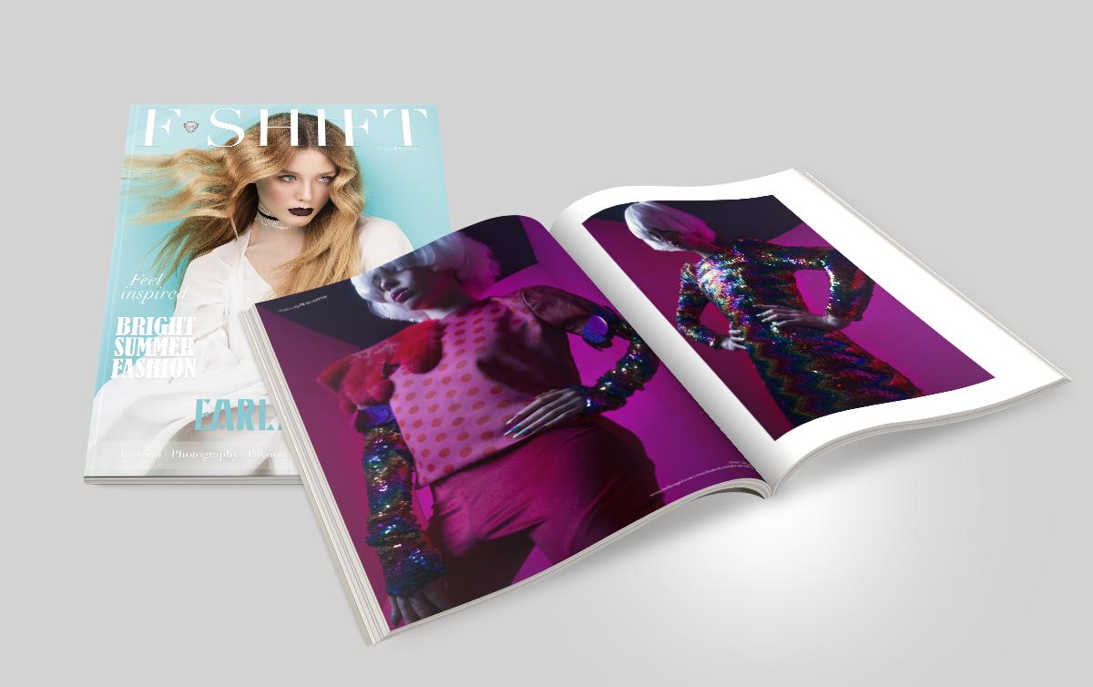 Fashion Shift Magazine Print Gg Designs