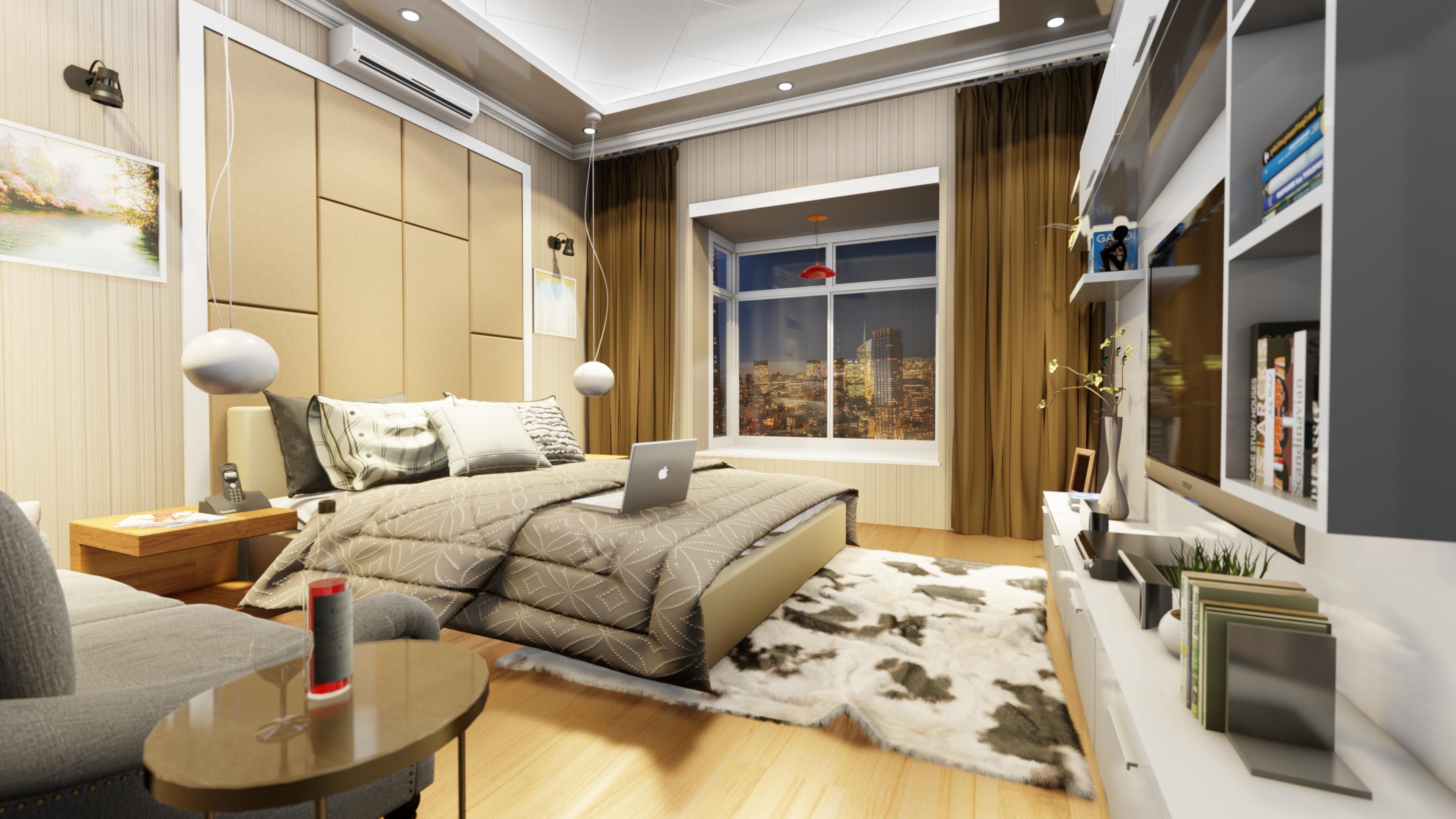 Apartment Interior CGI's